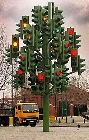 The busiest traffic lights