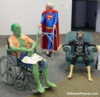 Retired super heroes
